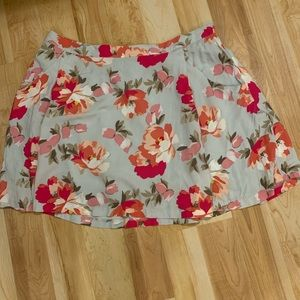 OLD NAVY floral skirt size extra large